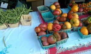 Local veggies from my CSA