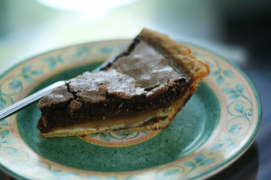 Zingerman's Chocolate Chess Pie