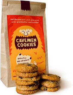 Photo of caveman cookies