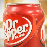 Can of Dr. Pepper Soda