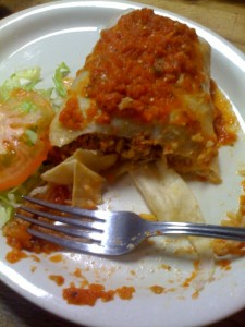 Photo of a wet burrito at Pablo's in Lansing