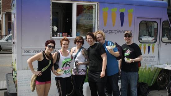Purple Carrot Food Truck