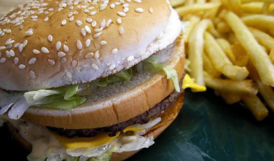 Photo of a Big Mac