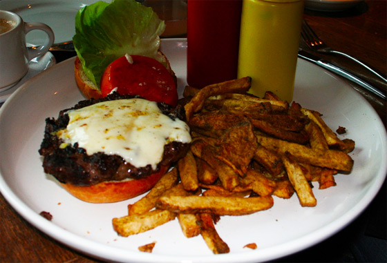 A Kobe burger in Texas